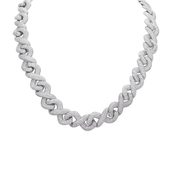 Tie Me Up With Diamonds Necklace