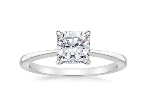 Charlie Cushion Cut Ring