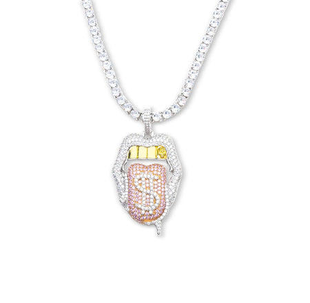 Iced Gucci Link Necklace