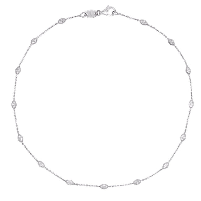 Pretty Moon Cut Anklet