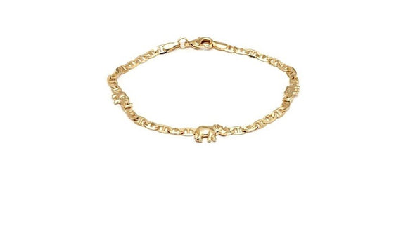 Elephants Anklet
