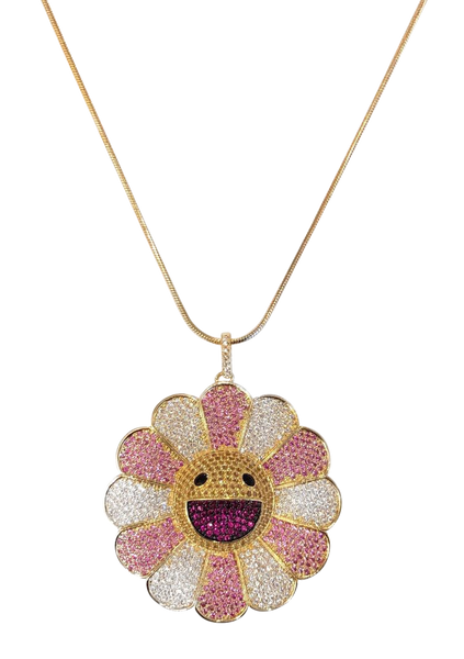 Pink Murakami Necklace
