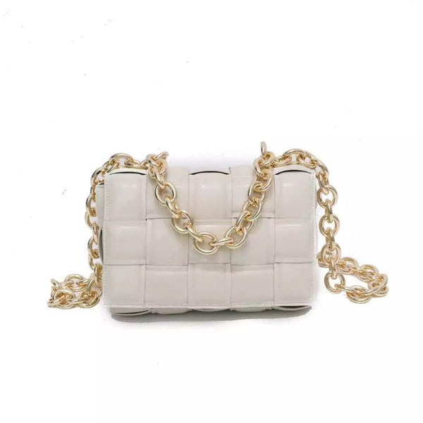 Sielo Chain Bag Blanco