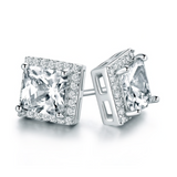 Diamond Square Stud