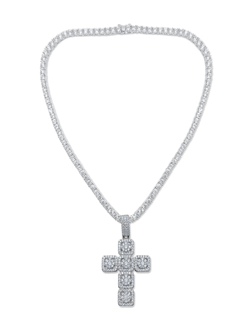 Mega Cross Necklace