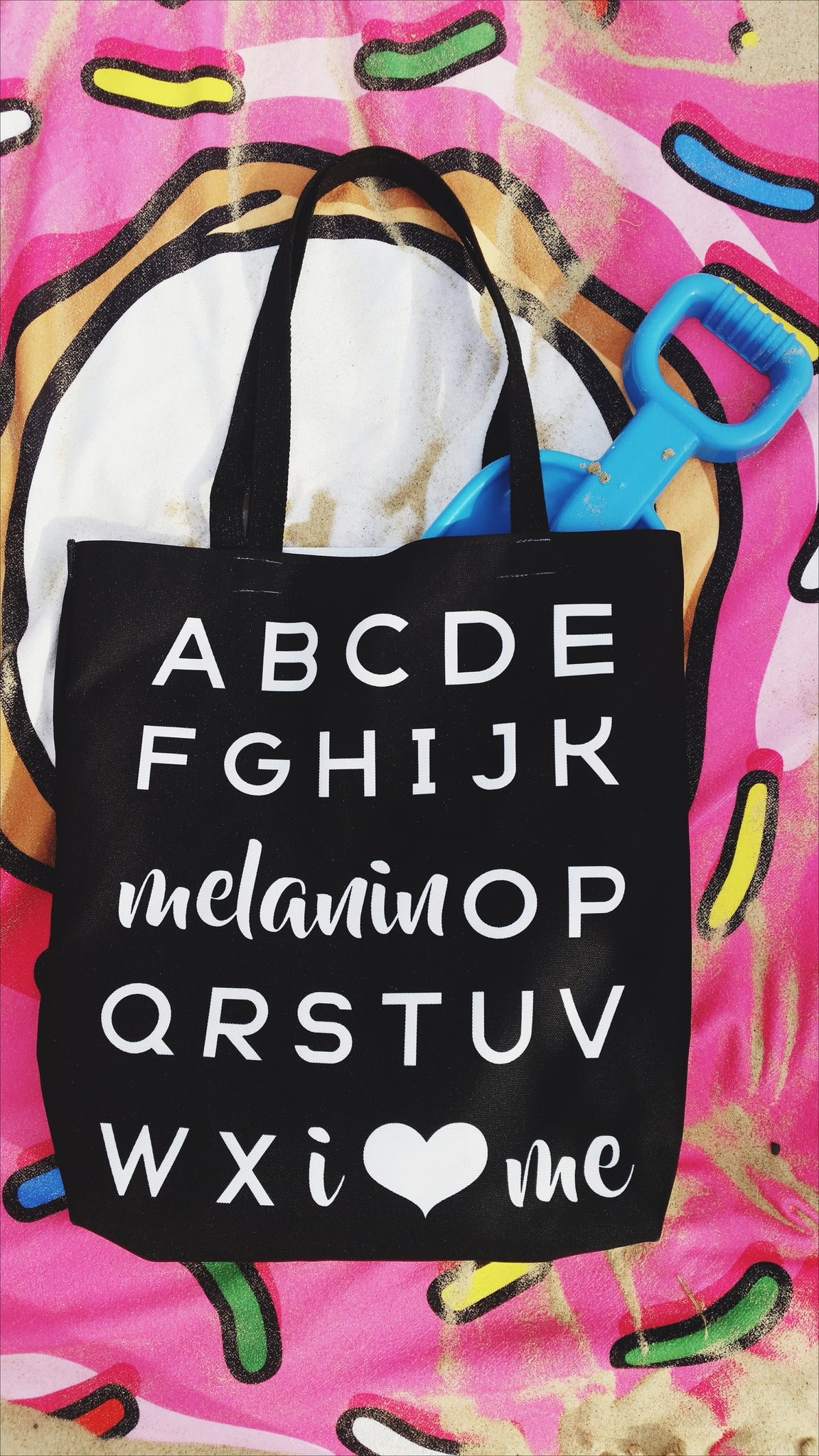 Melanin OP Tote - apparel for families of color | black owned business