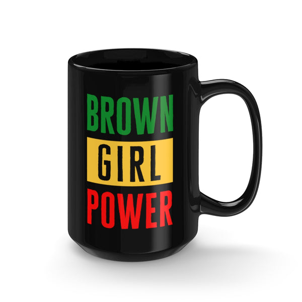 Irie Brown Girl Power Mug 15oz