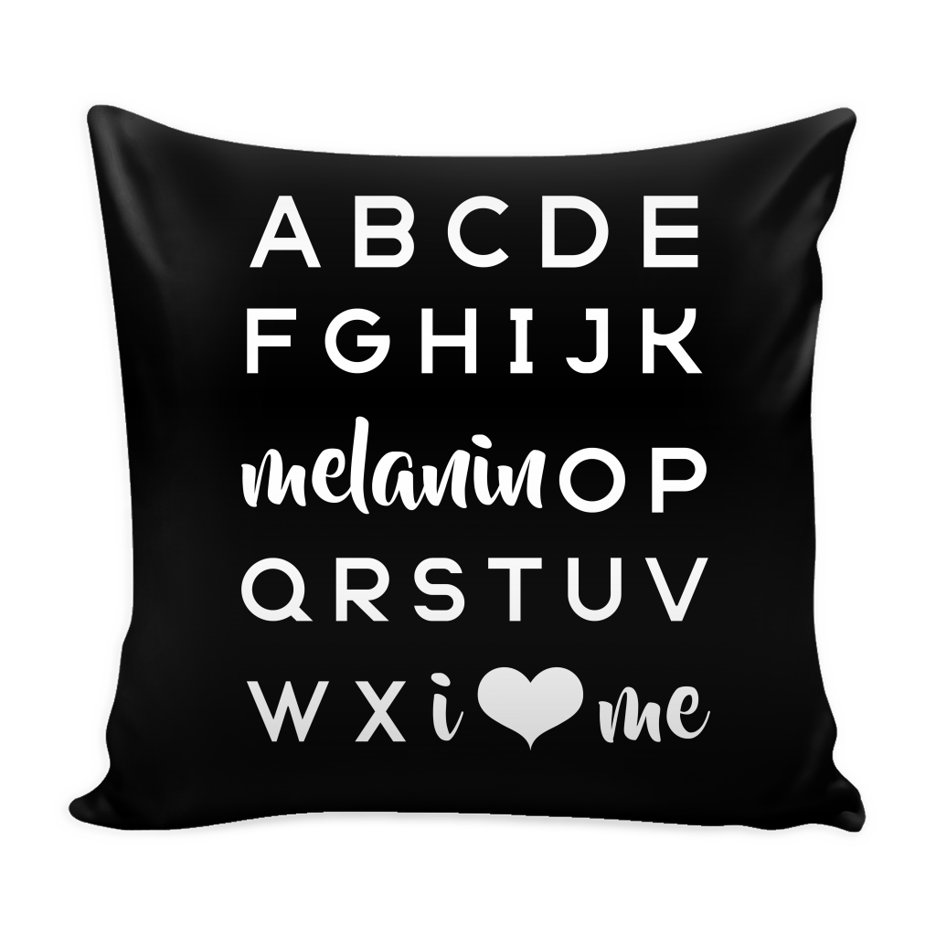Melanin OP Pillow COVER - celebrating families of color | black owned