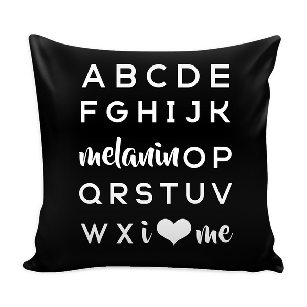 Melanin OP Pillow COVER - apparel for families of color | black owned business