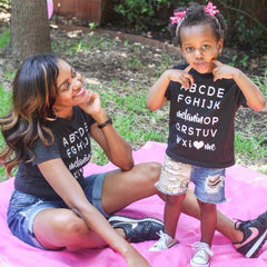Kids: Melanin OP Tee • White - apparel for families of color | black owned business