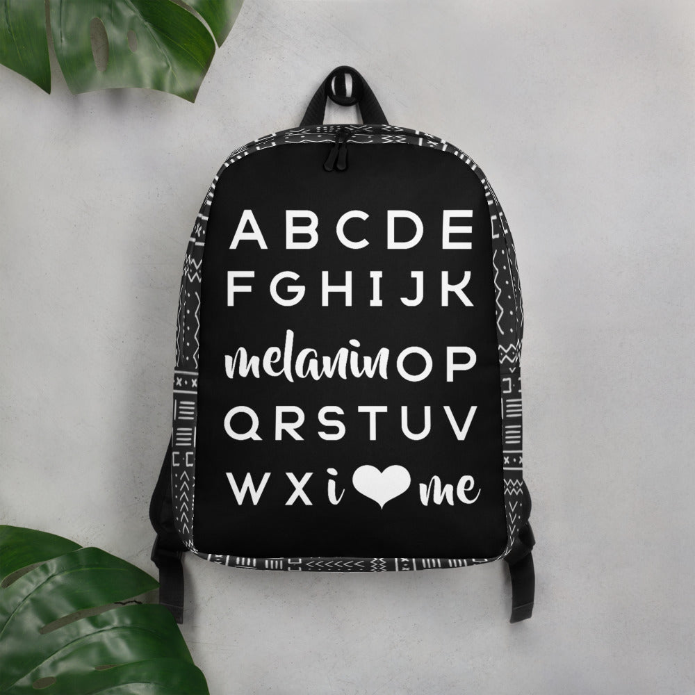 Black ABC Carryall Backpack