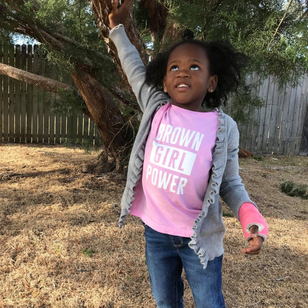 Brown Girl Power Tee • Toddler