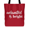 Melanated & Bright Tote - apparel for families of color | black owned business