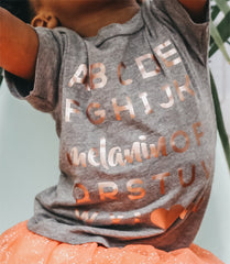 Adults: Melanin OP Tee • Rose Gold - apparel for families of color | black owned business