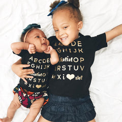 Kids: Melanin OP Tee • Gold - apparel for families of color | black owned business