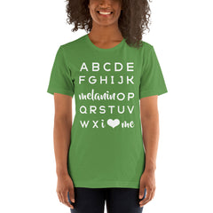 Adults: ABC Tee • Earth Tones, Ink-Based