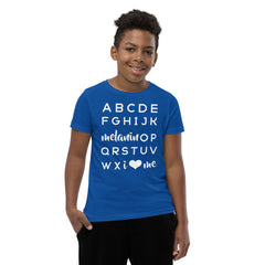Kids: ABC Tee • Extended Colors, Ink-Based