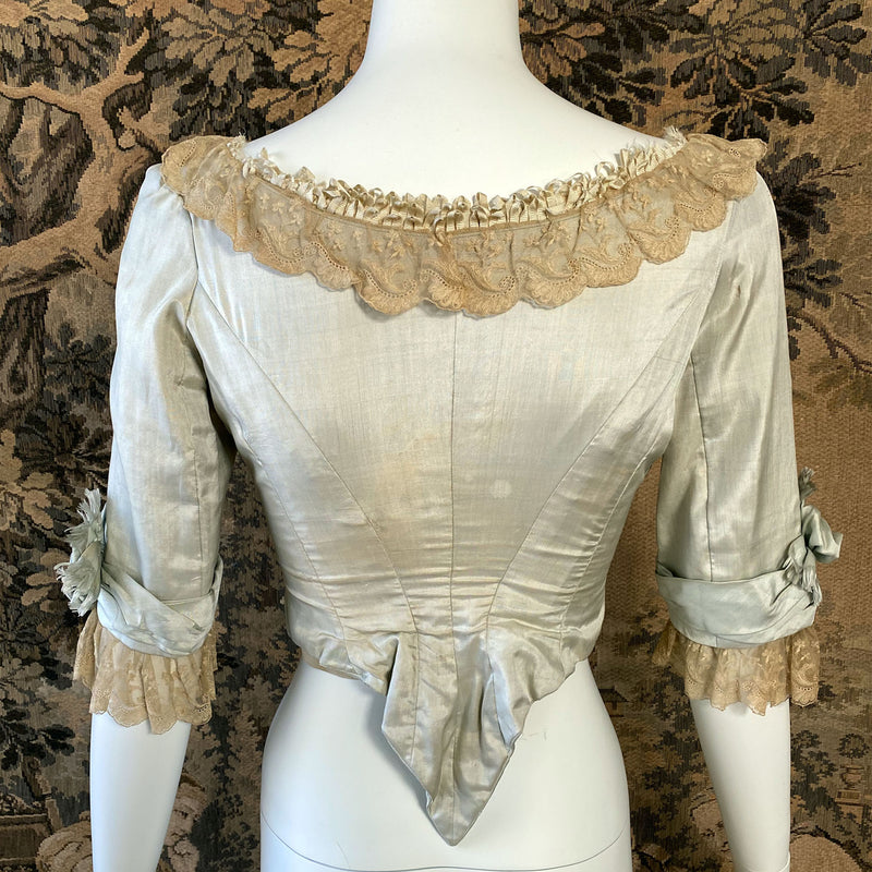 Victorian Silk Evening Bodice