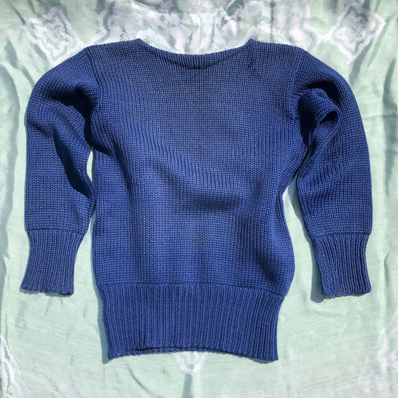1940s Hand Knit Sweater - Sweet Disorder Vintage
