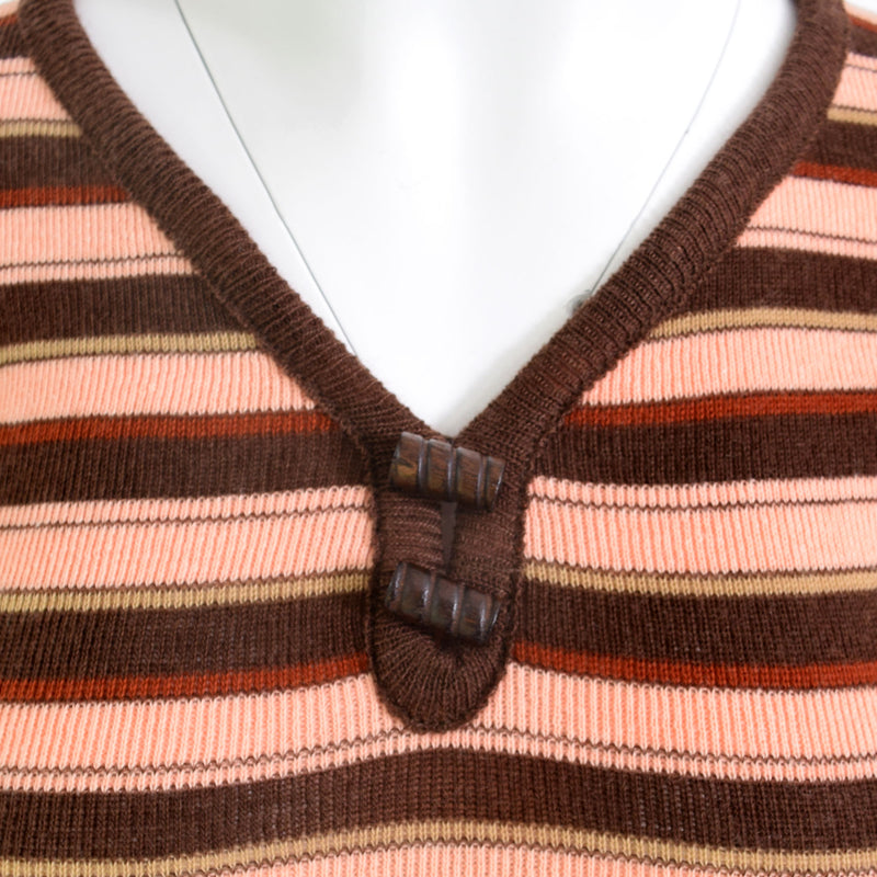 1970s Deco Knit Top