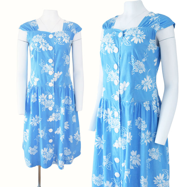 1950s Feedsack Sundress - Sweet Disorder Vintage