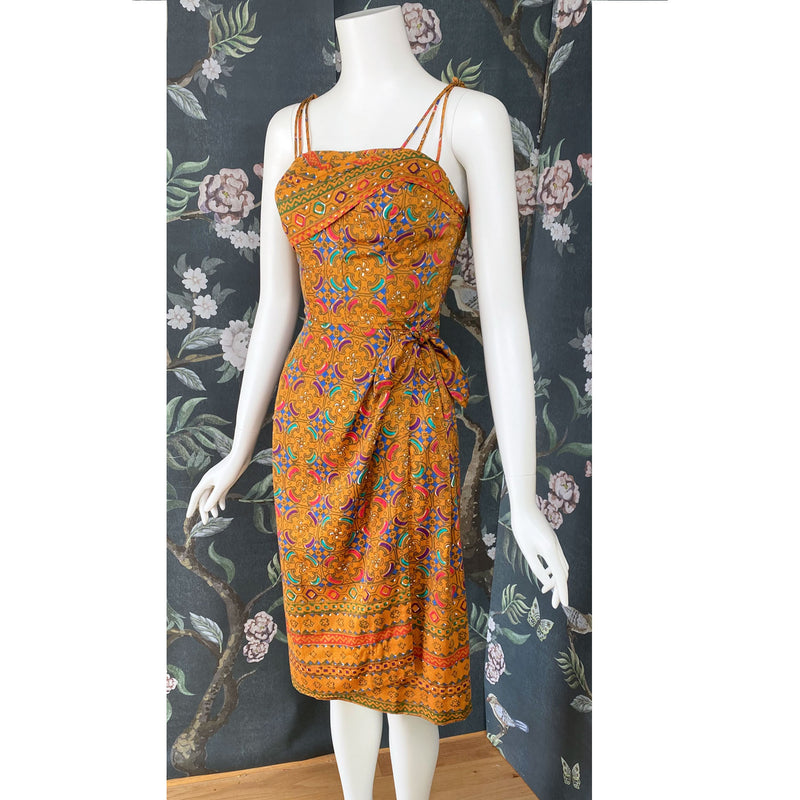 1950s Bombshell Wiggle Dress By Alix of Miami