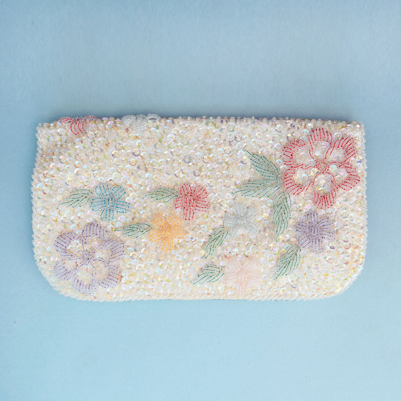 1950s Beaded Clutch Bag