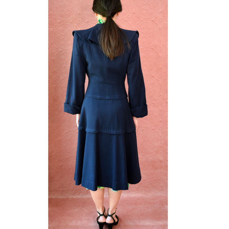 1940s Princess Coat - Sweet Disorder Vintage