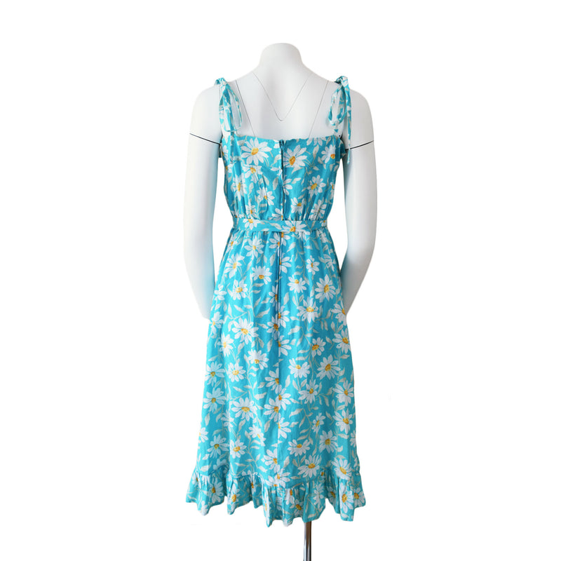1980s Laura Ashley Daisy Dress - Sweet Disorder Vintage