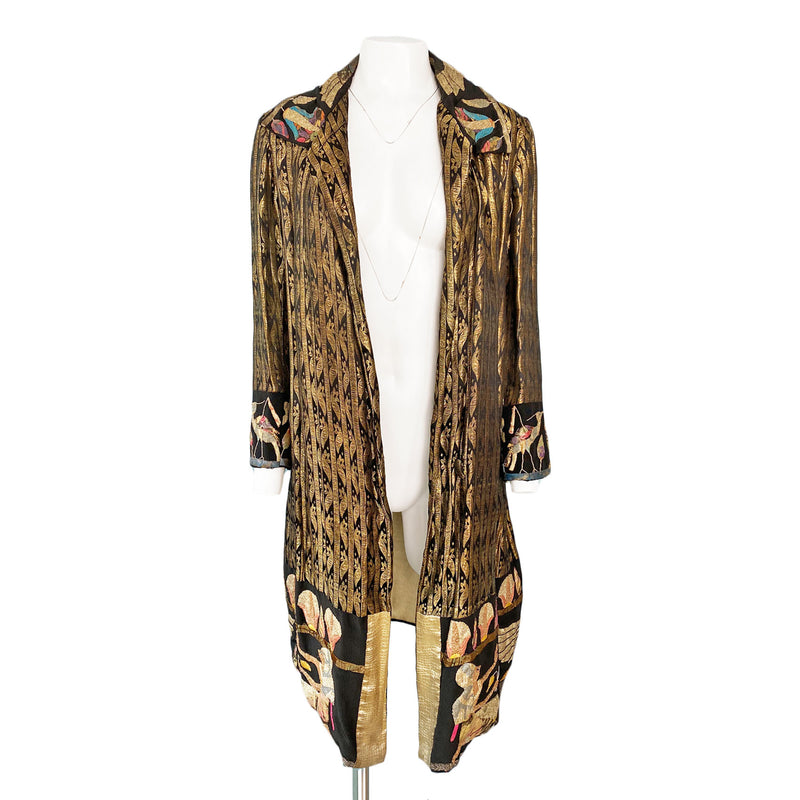 1920s Egyptian Revival Lamé Coat