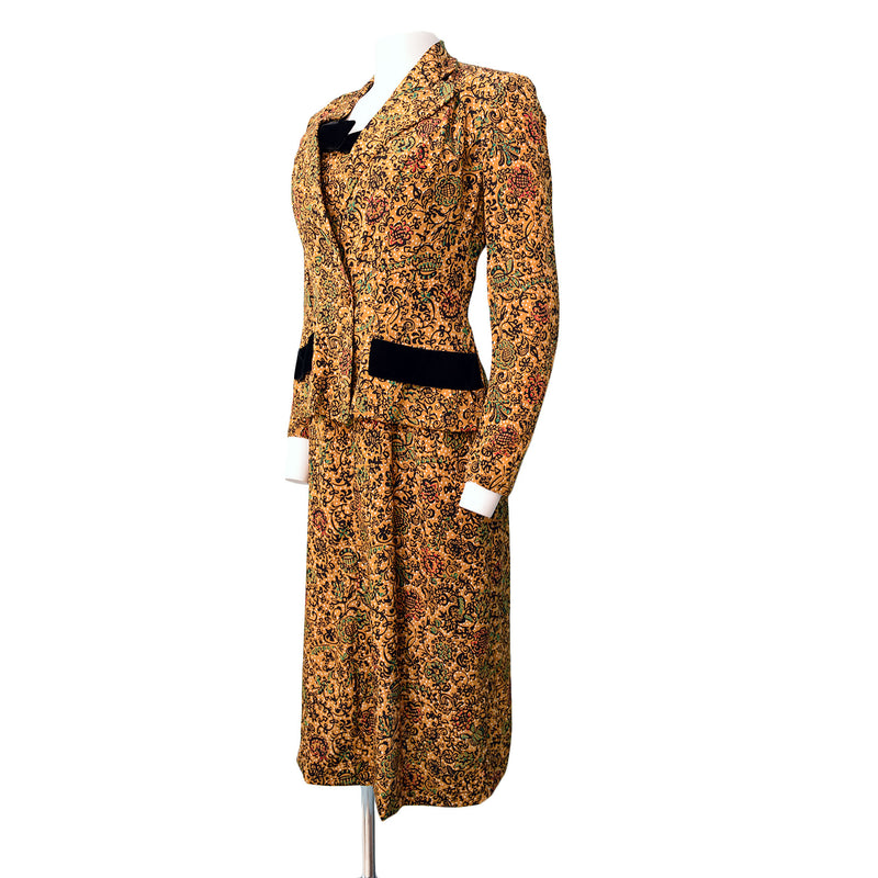 1950s Eisenberg Originals Dress Set