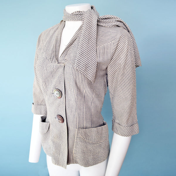 1950s Eisenberg Originals Jacket & Scarf
