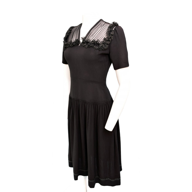 1940s New York Creations Day Dress