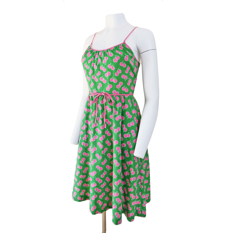 1970s Pink & Green Sundress - Sweet Disorder Vintage