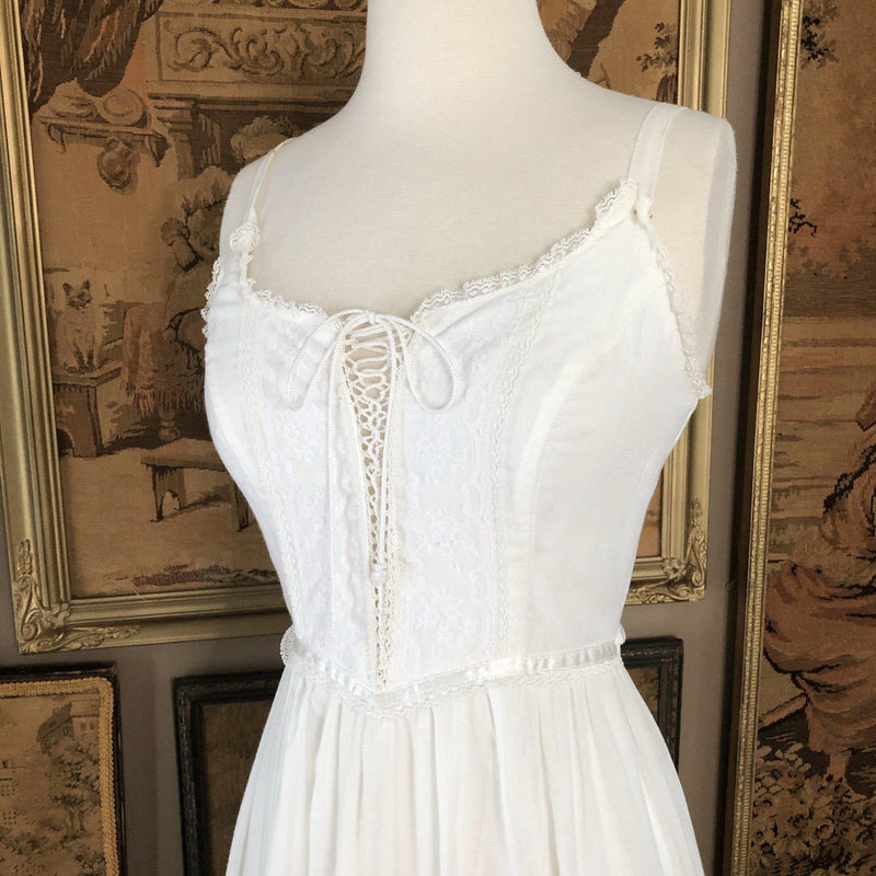 Vintage 1970s Gunne Sax Maxi Dress - Sweet Disorder Vintage