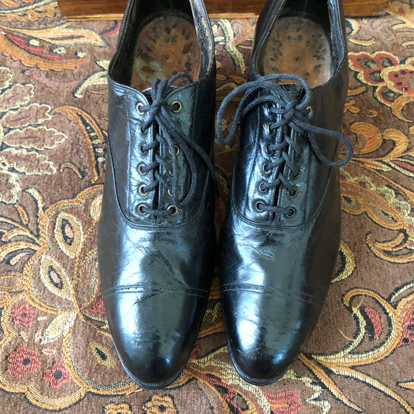 Edwardian Oxfords - Sweet Disorder Vintage