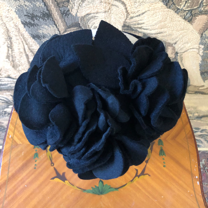 1940s Flowers Headband - Sweet Disorder Vintage