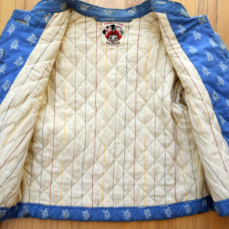 1930s Lanz Quilted Jacket
