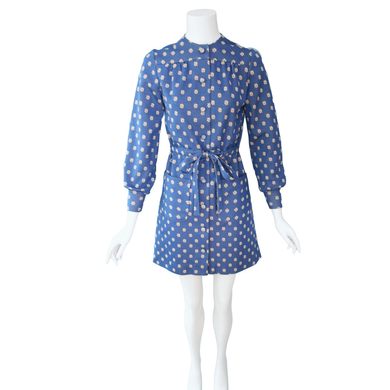 1970s Mod Mini Dress
