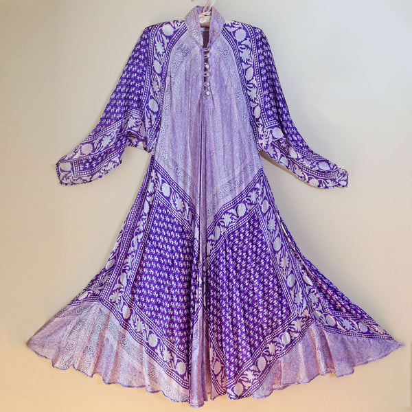 Vintage 1970s Silk Handkerchief Dress - Sweet Disorder Vintage
