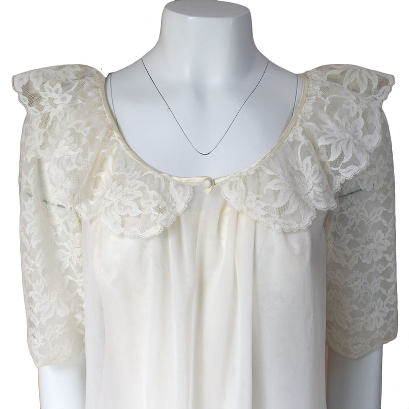 1960s Babydoll Peignoir Set
