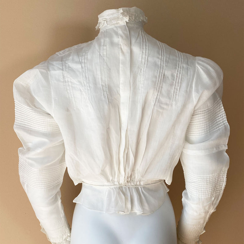 Victorian Embroidered Blouse