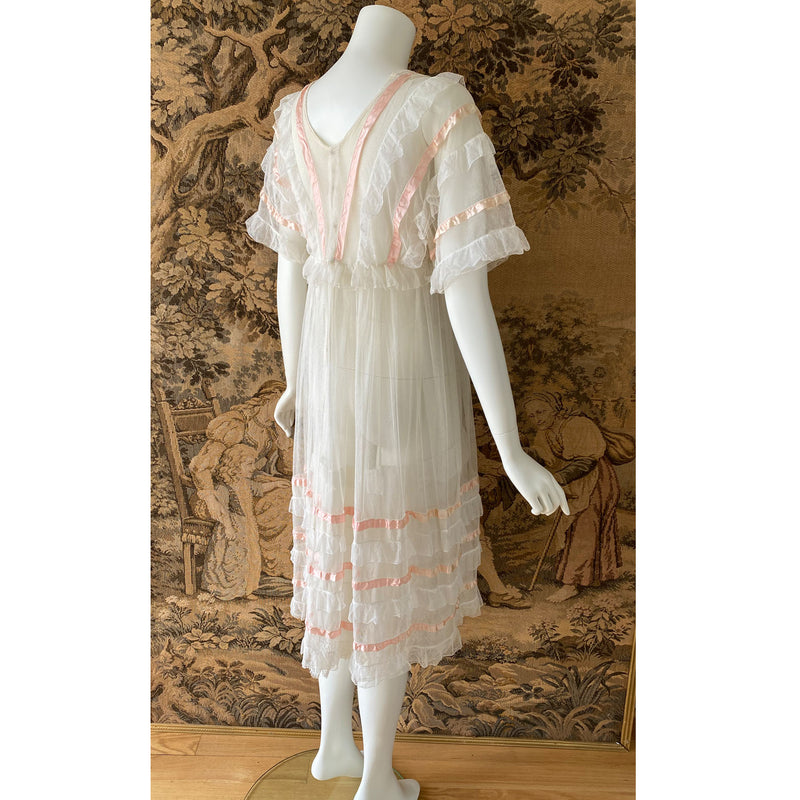 Edwardian Ribbon & Net Dress