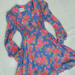 1970s Sweetheart Mini Dress - Sweet Disorder Vintage