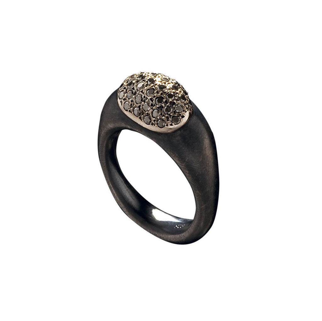 Juliet Ring w/ Diamonds