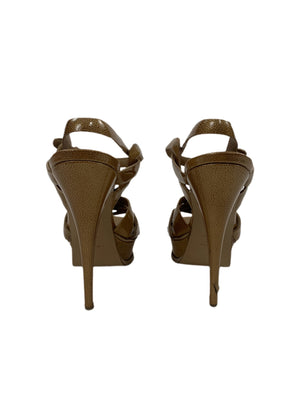 Limited Edition YSL Tribute Stingray T the Strap Sandals
