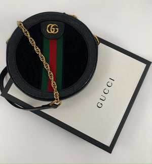 Gucci Ophidia mini round shoulder bag