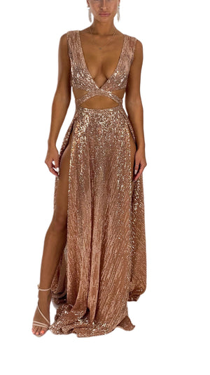 MIA SEQUIN GOWN