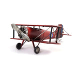 Double Wing Red Model Plane