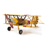 Double Wing Yellow Model Plane